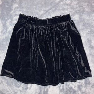 Garage Velours Skirt